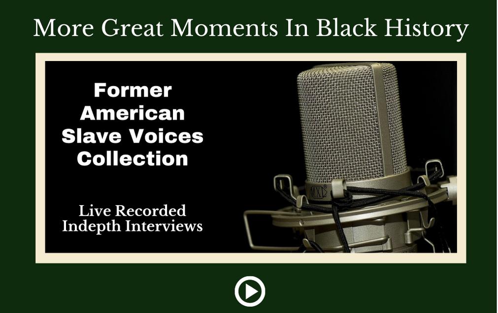 Former American Slave Interviews